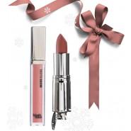 Lipstick Smooth Finish #jdNo7 + MORE GLOSS lip lacquer #sweetcream